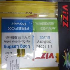 Vizz Baterai Batt Batre Battery Double Power Vizz Lenovo BL208 Untuk Lenovo S920 A690E A5600D A616