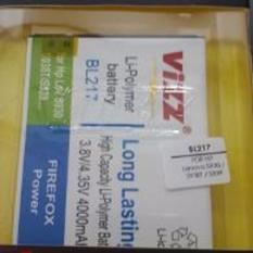 Vizz Baterai Batt Batre Battery Double Power Vizz Lenovo BL217 Untuk S930 S938T S939 4000 Mah