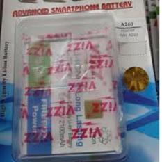 Jual Vizz Baterai Batt Batre Battery Double Power Vizz Mito A260 2100 Mah Vizz Di Dki Jakarta