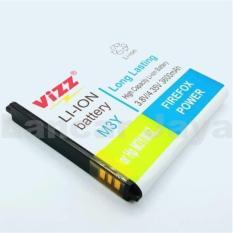 Promo Vizz Baterai Batt Batre Battery Double Power Vizz Modem Wifi Mifi Smartfren Andromax M3Y Dan M3Z 3600 Mah Vizz Terbaru
