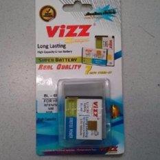 Vizz Baterai Batt Batre Battery Double Power Vizz Nokia BL-6F BL6F Untuk N95 8G, N78, N79 1850 Mah
