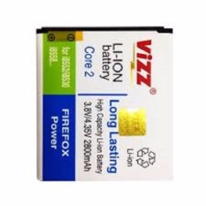 Jual Vizz Baterai Batt Batre Battery Double Power Vizz Samsung Core 2 G355H 2600 Mah Antik