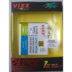 Vizz Baterai Batt Batre Battery Double Power Vizz Samsung S4 I9500 3400 Mah Vizz Diskon