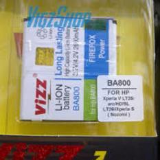 Vizz Baterai Batt Batre Battery Double Power Vizz Sony Experia BA800 Untuk LT25i dan LT26i