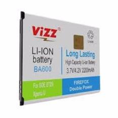 Vizz Baterai Batt Batre Battery Double Power Vizz Sony Experia BA600 Untuk Xperia U Experia P Experia S S725i LT26i 2200 Mah..