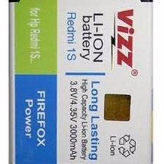 Vizz Baterai Batt Batre Battery Double Power Vizz Xiomi Redmi 1S 2S BM41 BM 41 dan BM44 BM 44 3000mah