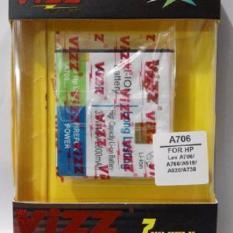 Vizz Baterai Battery Batt Batre Double Power Vizz Lenovo A706 A516 A760i