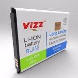 Vizz Baterai Battery Batt Batre Double Power Vizz Lenovo Bl253 Untuk A1000 A2580 A2860 Dki Jakarta