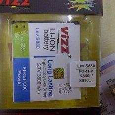 Vizz Baterai Battery Batt Batre Double Power Vizz Lenovo BL198 BL-198 S880 S890 A859 K860 A850 3500 Mah