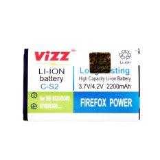 Spek Vizz Baterai Double Power Blackberry Gemini Cs2 2200Mah Dki Jakarta
