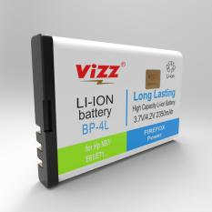 Harga Vizz Baterai Double Power Nokia 4L E63 E71 E90 N78 2350Mah Vizz