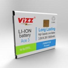 Review Vizz Baterai Double Power Samsung Ace 3 S7270 S7272 Ace3 Galaxy V Ace4 G131H 3000Mah