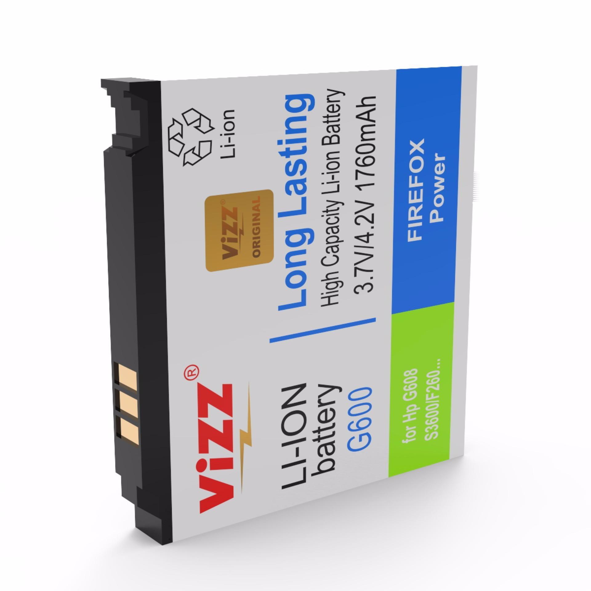 Vizz Baterai Double Power Samsung G600, G600,G608,F260,F268, J630,J638,S3600,B3310 (1760 mAh)