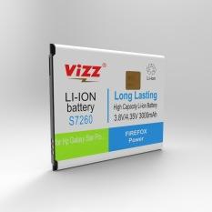 Jual Cepat Vizz Baterai Double Power Samsung S7260 Star Pro Star S7262 3000Mah