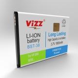 Jual Vizz Baterai Double Power Sony Ericson Bst38 5500 W580 K850 1800Mah Murah
