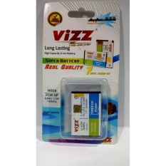 Vizz Battery Batt Batre Baterai Double Power Vizz Samsung B3410, W559,  Lakota C3322, Champ Deluxe, 1800 Mah