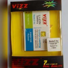 Vizz Battery Batt Batre Baterai Double Power Vizz Samsung Note 3 Replika Supercopy