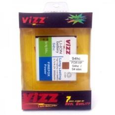 Vizz Battery Batt Batre Baterai Double Power Vizz Samsung S4 replika supercopy.