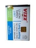 Harga Vizz Battery Blackberry Dakota 9900 Double Power 2800Mah Vizz Baru