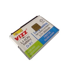 Harga Vizz Battery Blackberry Tour 9630 Essex 9650 Double Power 2800Mah Asli Vizz
