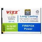 Beli Vizz Battery Bp 4L For Nokia N97 E61 E71 E72 E90 E52 Mito A850 Double Power 2350 Mah Pakai Kartu Kredit