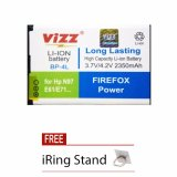 Harga Vizz Battery Bp 4L For Nokia N97 E61 E71 E72 E90 E52 Mito A850 Double Power 2350 Mah Free Iring Stand Yang Bagus