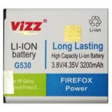 Jual Vizz Battery For Samsung Galaxy Grand Prime G530 Galaxy J5 Double Power 3200Mah Online