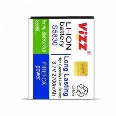 Diskon Vizz Battery Samsung Galaxy Ace Plus S7500 Double Power 2700Mah Branded