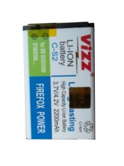 Beli Vizz C S2 Baterai Blackberry Double Power 2200Mah Baru