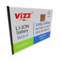 Harga Vizz Double Power Baterai For Andromax A 2600 Mah Merk Vizz