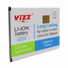 Jual T Vizz Double Power Battery For Samsung Galaxy G530 Or Samsung Galaxy Grand Prime 3200 Mah Antik