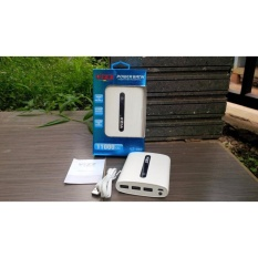 Harga Vizz Powerbank Power Bank 11000 Mah Triple Usb Output 2A Ampere Kabel Micro Usb Asli Vizz