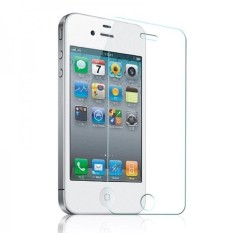 Rp 7.900. Vn Apple iPhone 4 / 4S / 4G Tempered Glass 9H Screen Protector 0.32mm Depan - Bening TransparanIDR7900