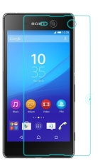 Vn Sony Experia Xperia M5 / Dual Tempered Glass 9H Screen Protector 0.32mm - Transparan