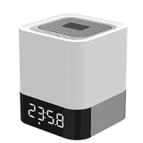 Beli Vococal Bluetooth Pengadaan Portabel Sentuh Sensitif Mengendalikan Pembicara Memimpin Meja Lampu Meja Cahaya Malam Alarm Jam With Micro Slot Kartu Sd Putih Terbaru
