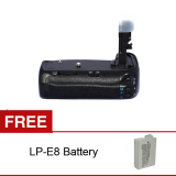 Beli Voking Vk E8 Battery Grip For Canon 550D 600D 650D 700D Seken