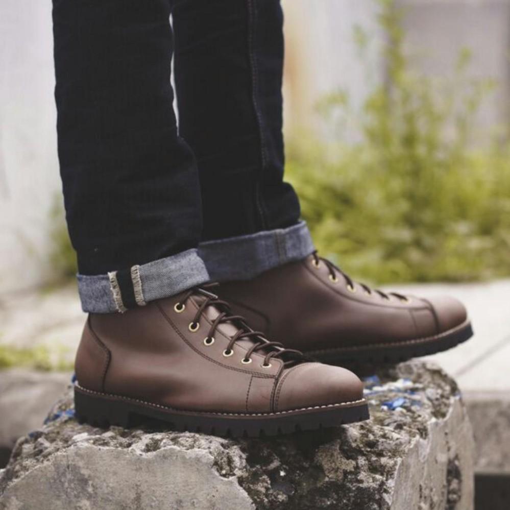 volkerfootwear irish monkey brown/ sepatu boots trackking