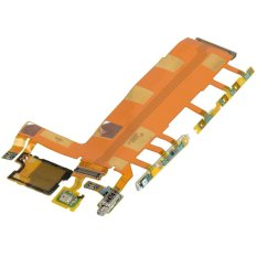 Volume Power Tombol Kamera Utama FLEX Kabel untuk Sony Xperia Z3 D6603 D6643 D6653--Intl