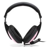 Vooger X688 Stereo Headset Hitam Merah Muda Promo Beli 1 Gratis 1