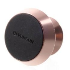 VORSON 360-degree Rotation Universal Magnetic Car Mount Phone Standfor iPhone Samsung Etc - Rose Gold - intl