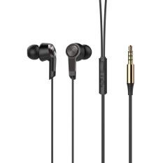VORSON In-Ear Earphones 3.5mm Plug Volume Control Hands-free Call Wired Headset for Smartphones - intl