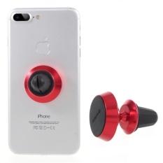 Vorson Vh-005 Rotary Mobil Udara Vent Mount Magnetic Pegangan Ponsel untuk IPhone Samsung Dll. -Merah-Intl