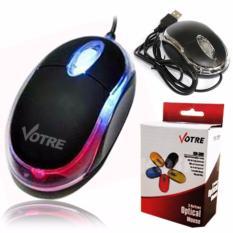 Toko Votre Mouse Optik Usb 309 Hitam Votre