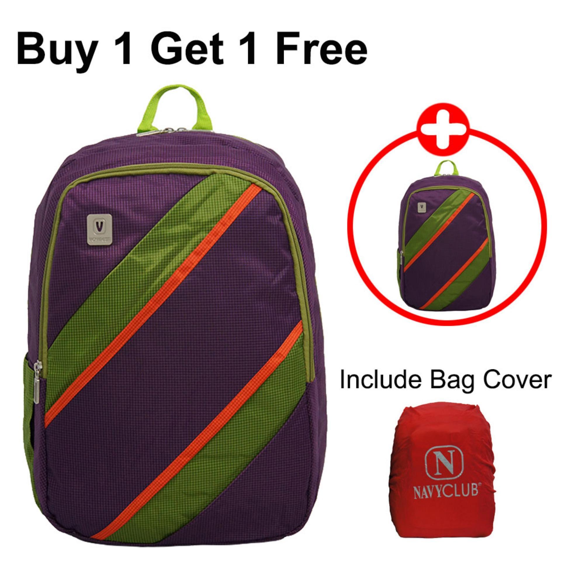 Jual Voyager Tas Ransel Laptop Kasual Tas Pria Tas Wanita 7815 Backpack Bonus Bag Cover Ungu Buy 1 Get 1 Free Voyager