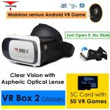 Spesifikasi Vr Box 2 Play Vr Game Tanpa Wifi With Magnet 3D Vr Glasses Kacamata Cardboard Vb2 V2 Baru