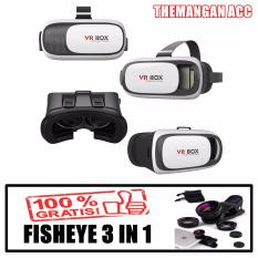Cuci Gudang Vr Box 2 Virtual Reality Smart Glasses Kacamata Virtual Hp 360 Free Fish Eye 3 In 1