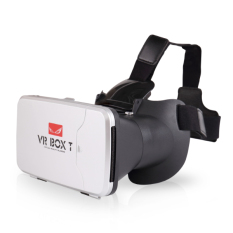 Harga Vr Box 3D T With Capacitive Touch Button 3D Vr Cardboard 2 Putih Baru Murah