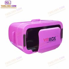 VR BOX GENERESI KE 3 - 3D Virtual Reality for Smartphone - Ukuran Lebih Kecil - Ungu