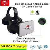 Miliki Segera Vr Box T 3D Vr Cardboard 2 With Capacitive Touch Button Virtual Reality Glasses Putih
