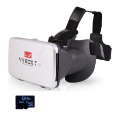 Ulasan Mengenai Vr Box T Sdv02 With Capacitive Touch 3D Vr Cardboard 2 8Gb Sd Card